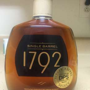 Bourbon Review:  1792 Single Barrel for Decatur Package Store
