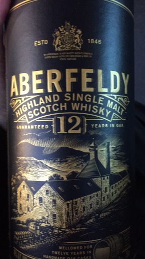 Scotch Whisky Review:  Aberfeldy 12 year