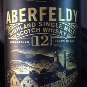 Scotch Whisky Review:  Aberfeldy 12year