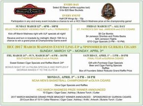 Events coming to Cigar clubs in Atlanta for March