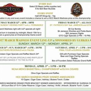 Events coming to Cigar clubs in Atlanta forMarch